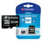 Memoria Micro Sd 32 Gb Verbatim Clase 10