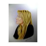 Rostro Cuadro Retratos Color A Pedido Mascotas Persona 30x42