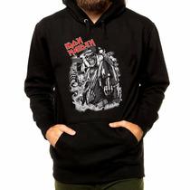 Blusa Casaco Moletom Iron Maiden Banda Rock