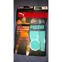 Boxer Puma 2 Pack Para Niño