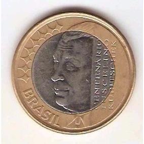 Moeda Comemorativa Jk- Juscelino Kubtschek - Centenário-2002