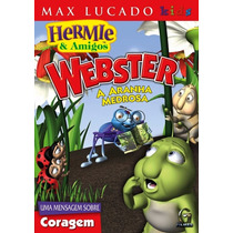 Dvd Hermie & Amigos Webster - A Aranha Medrosa - Max Lucado