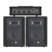 Phonic Combo 200 W Super Oferta ! Consola + Cajas + Cables