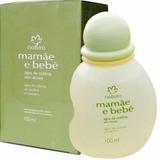 Água De Colônia Mamãe E Bebê Natura 100ml Cheirinho De Bebê