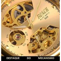 Relógio Máquina À Mostra Automático Masculino
