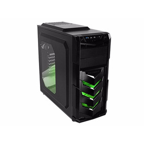 Gabinete Pc Gamer Raidmax Vortex V4 Verde Atx Usb3 Cooler
