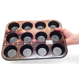 Mini Forma 12 Divisões Brinox Para Pão De Queijo E Bolinho