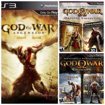 Coleção God Of War - 5 In 1 Ps3 Psn Original