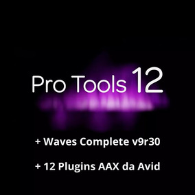 Pro Tools 12 Hd + Plugins Aax Avid + Waves V9r30