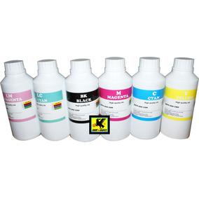 Tinta De Sublimacion Para Epson 1lt Negro Y 3 Botellas C,m,y
