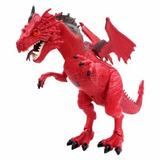 Mighty Megassauros Dinossauros Dragão Vermelho Dtc 3395