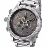 Reloj Nixon A4862064 51-30 Chrono 100% Acero Inoxidable