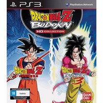 Jogo Dragon Ball Z Budokai Hd Collection (novo) Ps3