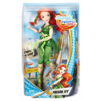 Dc Super Hero Girls Posion Ivy Hera Venenosa Mattel Boneca
