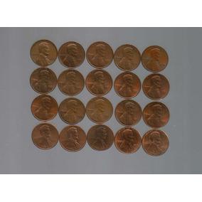20 Monedas 1 Centavo De Dólar 60s,70s,80s,90s,00s Lote