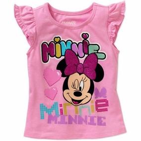 Disney Minnie Mouse Polo Sin Manga Para Niñas 5 Años