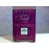 Libro Una Vida Con Proposito - Rick Warren Best Seller