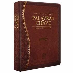 Bíblia De Estudo Palavras Chave Luxo Hebraico Grego