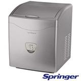Máquina De Gelo Ice Maker Springer Prata - Icma0158b - 127v