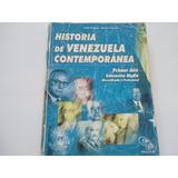 Historia De Venezuela Contemporánea Séptimo Año Oferta