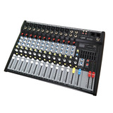 Consola Audio 12 Canales Efectos Usb Sd Mp3 E-sound Mp-1202u