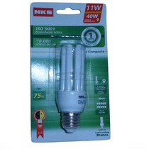 Kit 10 Lampada Super Compacta Fluorescente 3u 40w 110v 6400k