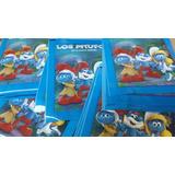 Figuritas De Los Pitufos Pack Por 25