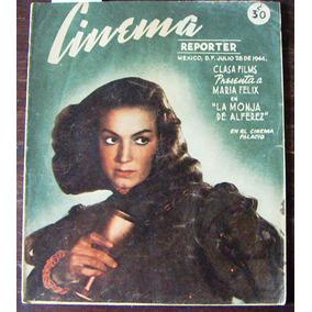 Revista,cinema Reporter,maria Felix,lana Turner