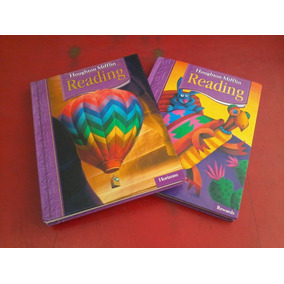 Houghton Mifflin Libros Ingles Primaria Seminuevos
