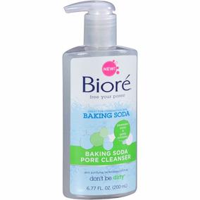 Biores Sabonete Liquido Esfoliante Facial Baking Soda