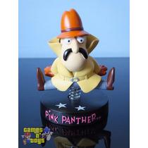 Estatueta Inspetor Clouseau Pantera Cor De Rosa Pink Phanter