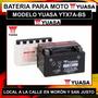 Bateria De Moto Cuatri Yuasa Ytx7a-bs Zanela Rx Cuatri Y Mas