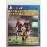 Juego Fifa 16 Edition Deluxe Ps4