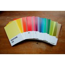 Pantone 100 Postales Coleccionables De Colores *sk