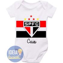 Body Infantil - Uniforme Do São Paulo