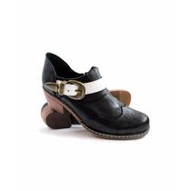 Envío Gratis Cuero Otoño Invierno Zapato Botineta 2017 Moda