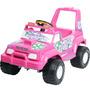 Jeep Elétrico Burigotto Peg-pérego Pick Up Nevada 6v - Pink