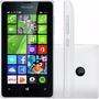 Telefone Windows Phone Nokia Lumia 435 Branco 8gb Dual Chip