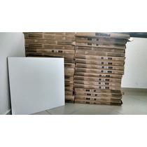 Porcelanato 57m² Branco Esmaltado 58x58 Perfeito Estado