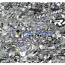 Sticker Bomb Adesivo Skin Carro Moto 30x20cm #sb034