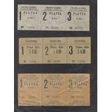 3 Boletos Teatro Olimpo, Real ,cine Olimpo -valparaíso