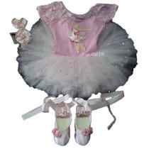 Roupa Bailarina Figurino Tutu Fantasia Princesa