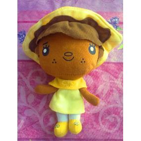 Peluche De Muneca Afro Vestida De Amarillo Serie Rositra Fre