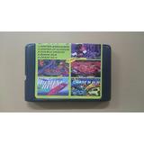 Cartucho Sega 5 Juegos - Contra-double Dragon-mickey- Y +