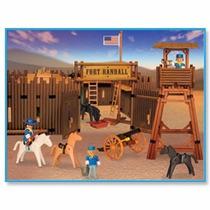 Playmobil 3419 Fuerte Fort Randall Original Antex