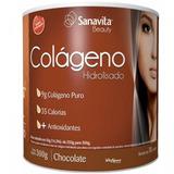 Colageno - 300g - Sanavita - Chocolate