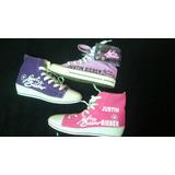Zapatos Gomas Justin Bieber Y 1d Artistas Online