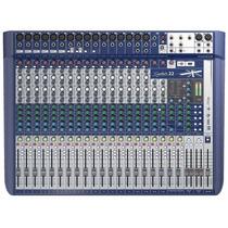 Mesa Som 22 Canais Soundcraft Signature Profissional Usb