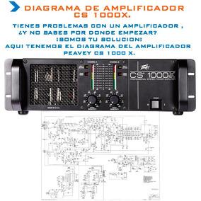 Diagrama Amplificador Peavey Cs1000