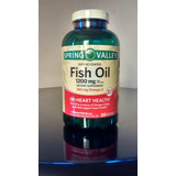 Omega 3 Fish Oil 1200 Mg Spring Valley - 200 Caps Softgel